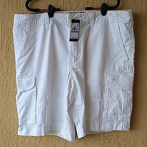 Wht Tommy Hilfiger mens cargo shorts Sz 38